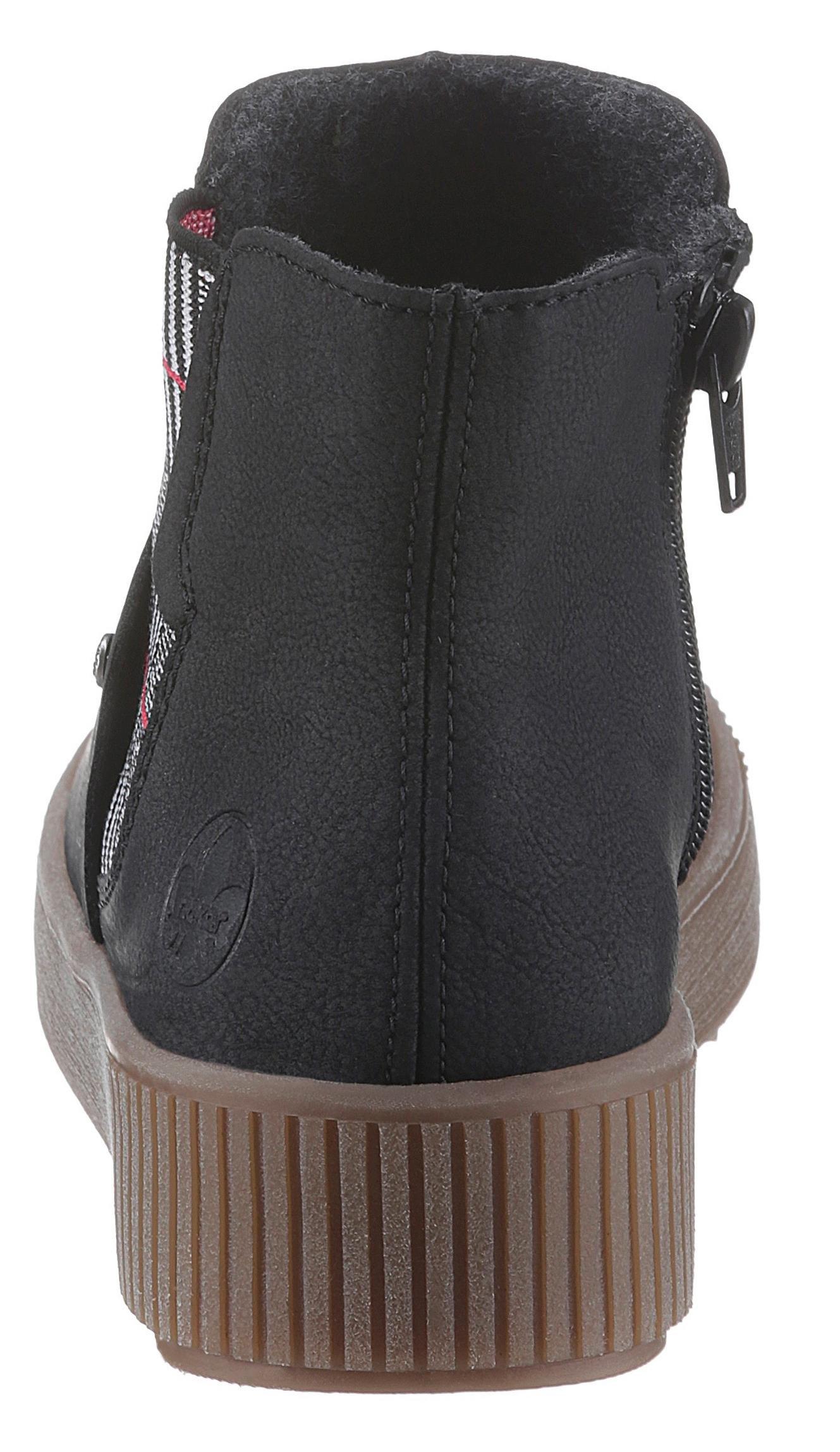 Rieker Chelsea-boots met plateauzool nu online kopen bij OTTO