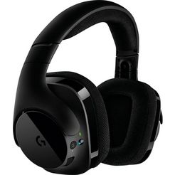 logitech games gaming-headset g533 wireless zwart