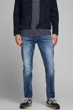 jack  jones comfort fit jeans »mike« blauw