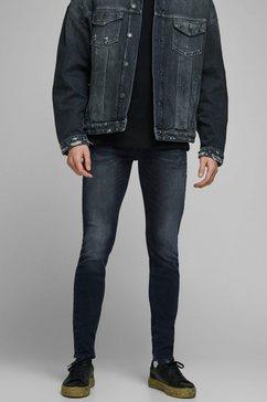 jack  jones skinny fit jeans »liam jjoriginal« blauw