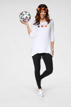 boysen's lang shirt »em 2020 fanshirt« wit