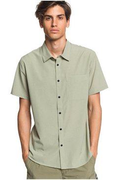quiksilver - waterman tech tides - overhemd met korte mouwen en upf 30 voor heren groen