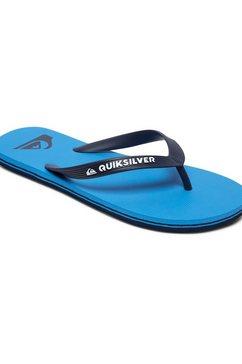 quiksilver teenslippers »molokai« blauw