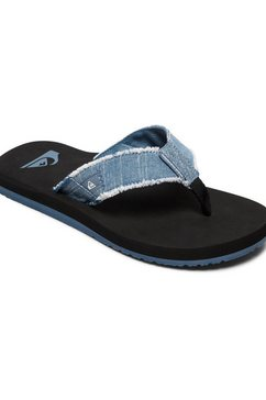 quiksilver slippers »monkey abyss« blauw