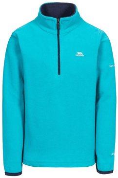 trespass fleece-shirt »kinder maedchen microfleecepullover sybil« blauw