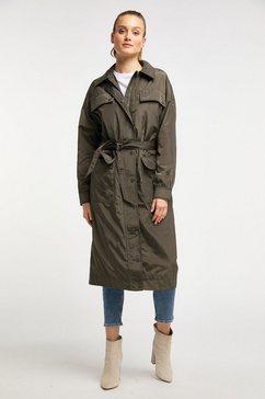 dreimaster coat groen