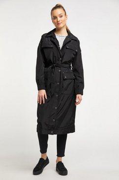 dreimaster coat zwart