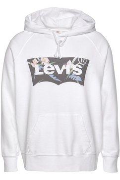 levi's plus hoodie »batwing hoodie« wit