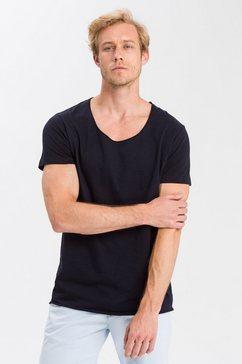 cross jeans t-shirt »15346« blauw