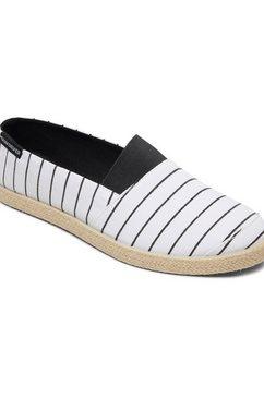 quiksilver - espadrilled - slip-on schoenen voor heren wit