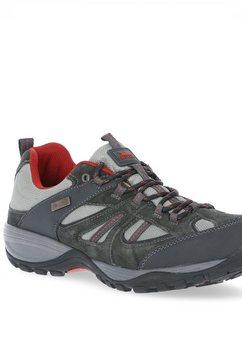 trespass sneakers »herren benjamin - turnschuhe, wasserfest« grijs