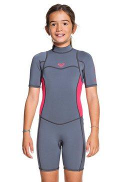 roxy springsuit met korte mouwen »2mm syncro series« roze