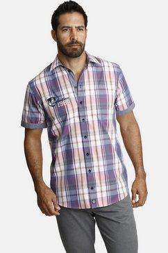 jan vanderstorm overhemd met korte mouwen »emmik« multicolor