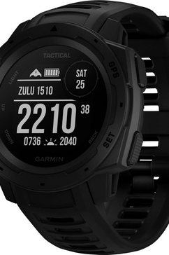 garmin smartwatch instinct tactical zwart