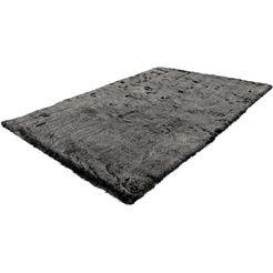 me gusta hoogpolig vloerkleed »tender 125«, me gusta, rechthoekig, hoogte 52 mm, machinaal geweven grijs