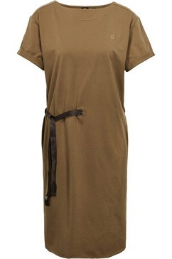 g-star raw jerseyjurk »disem r dress wmn ss« groen