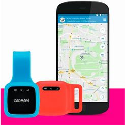 alcatel »combi protect + prepaid sim sw xsb31 otto« gps-tracker zwart