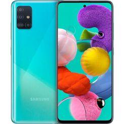 samsung smartphone galaxy a51 blauw