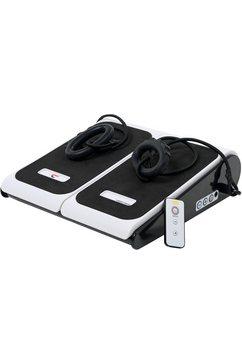 christopeit sport trilplaat »vibro 1000«, 10 intensiteitsniveaus 60 watt (met trainingsbanden) wit