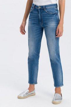 cross jeans 7-8 jeans »marisa« blauw