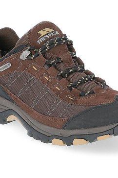 trespass sneakers »herren - turnschuhe scarp, wasserfest« bruin