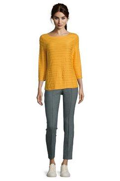 betty barclay casual shirt »mit wellenstruktur« goud