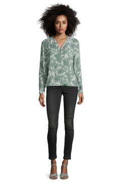 cartoon casual blouse »mit blumenprint« groen