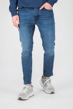garcia tapered jeans blauw