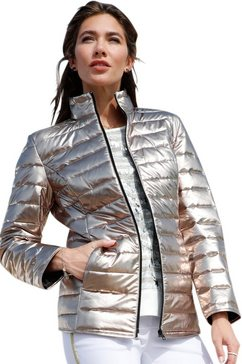 classic basics gewatteerde jas goud