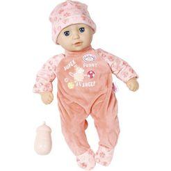 baby annabell babypop little annabell met slapende ogen roze