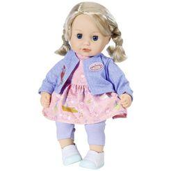 baby annabell babypop little sophia 36 cm met haar multicolor