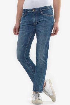 le temps des cerises slim fit jeans »sea« blauw