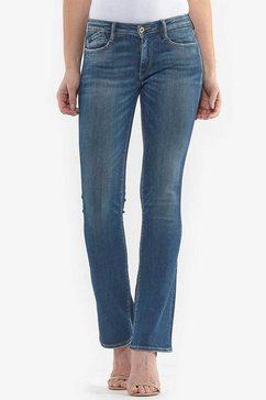 le temps des cerises bootcut jeans »powerb« blauw