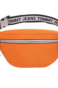 tommy jeans heuptasje »tjm logo tape bumbag nyl« oranje