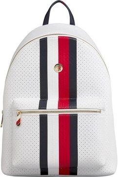 tommy hilfiger rugzak »poppy backpack neoprene« wit