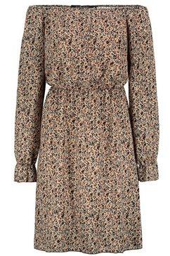 sublevel jurk in a-lijn bruin