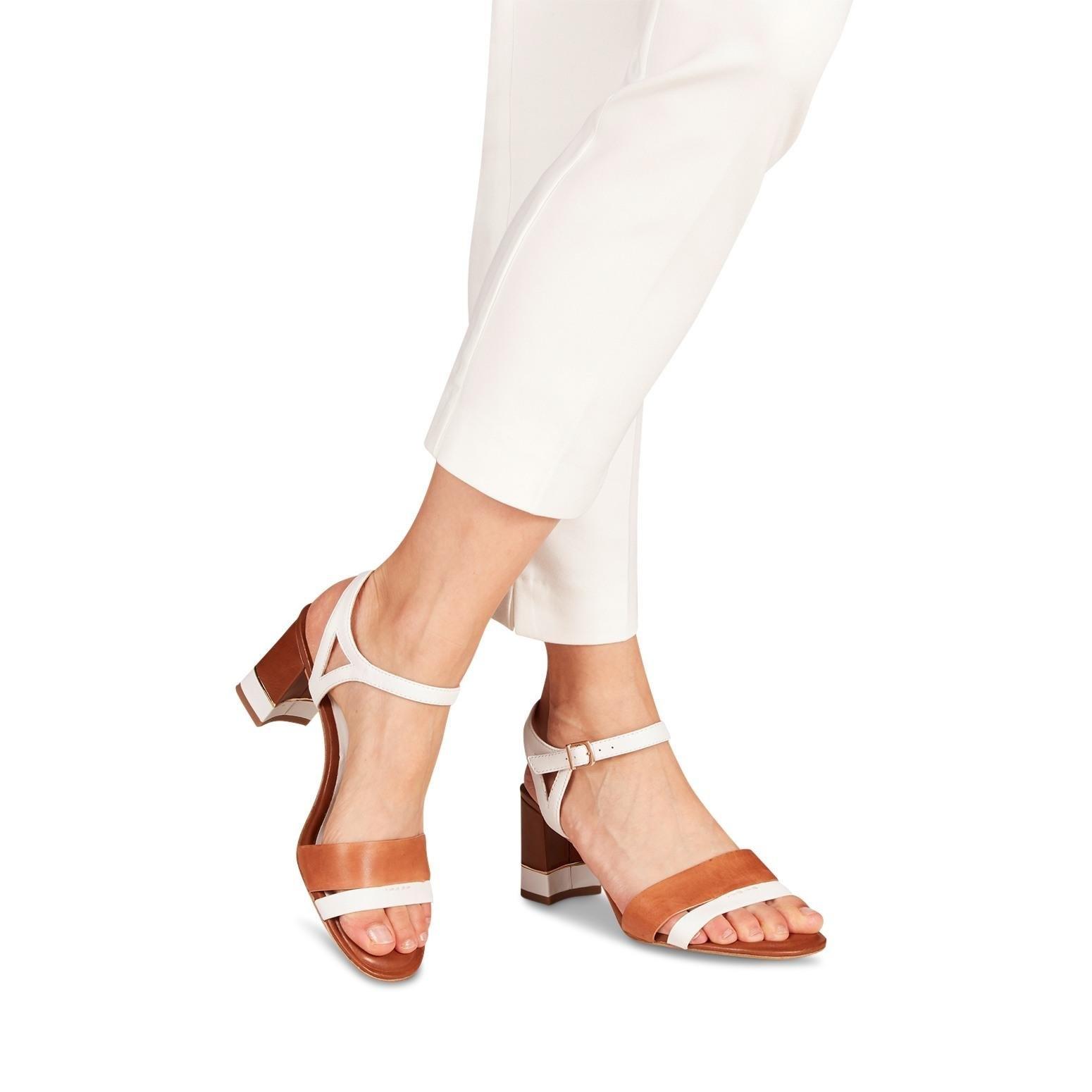 Tamaris sandaaltjes DALINA met beklede hak nu online kopen bij OTTO