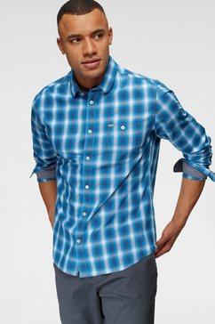 tom tailor overhemd met lange mouwen blauw