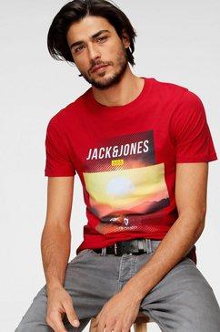 jack  jones t-shirt »jcofriday disc« rood