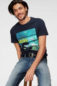 jack  jones t-shirt »jcofriday disc« blauw