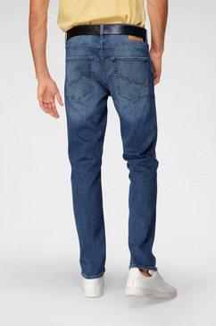 jack  jones straight jeans »clark« blauw