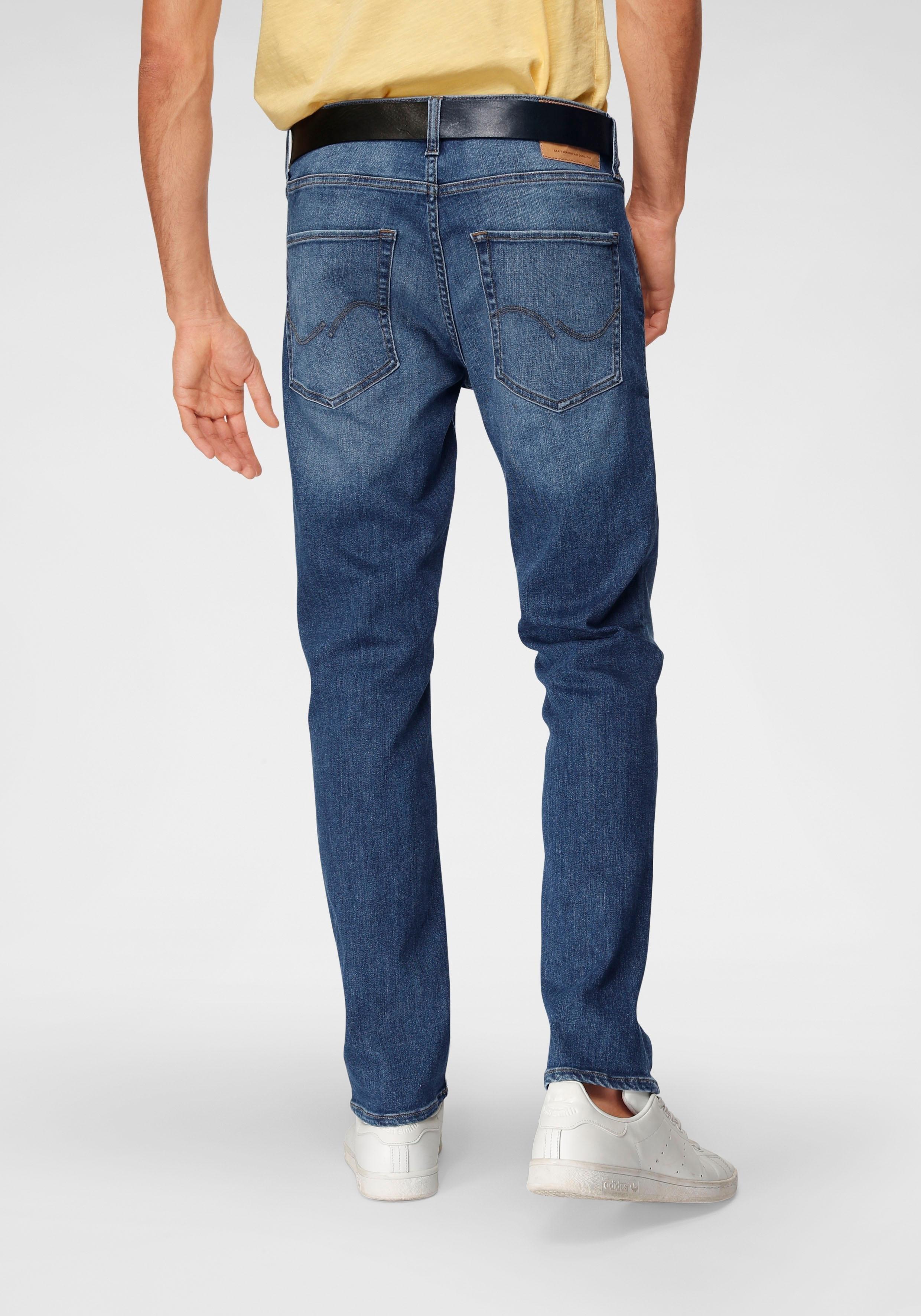 Jack & Jones straight jeans »CLARK« nu online kopen bij OTTO