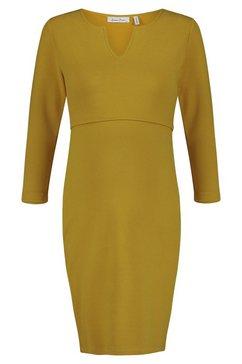 queen mum jurk met voedingsfunctie »nursing dresses« geel
