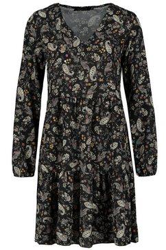 sublevel jurk in a-lijn zwart