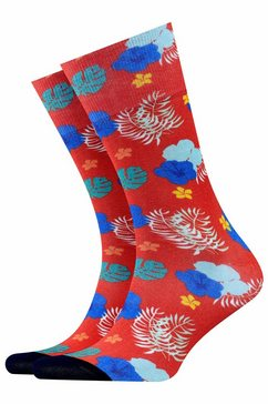 burlington sokken rood