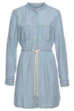 blue fire lange blouse »ethel« blauw