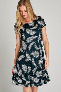 apricot meshjurk »fern rubber print skater dress« groen