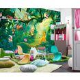 komar fotobehang »papiertapete lion king jungle« multicolor