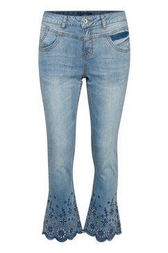 cream 5-pocketsjeans »bolettecr jeans - shape« blau