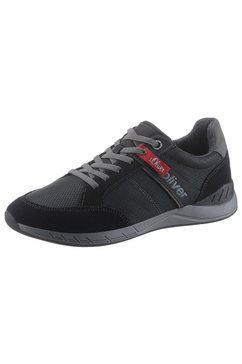 s.oliver sneakers zwart